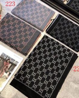Gucci cashmere silk scarves